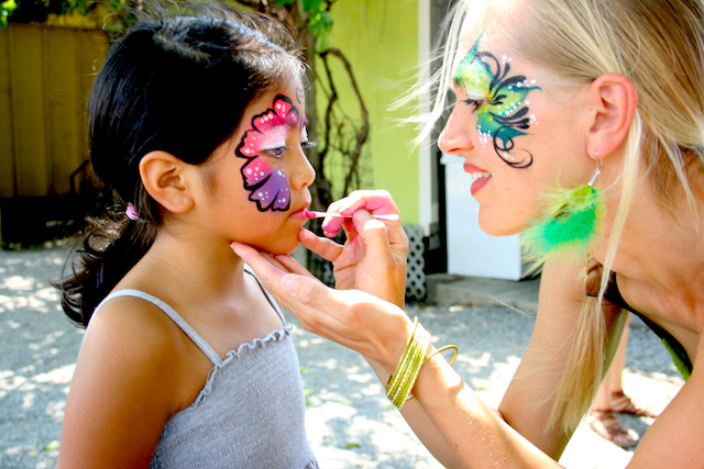 leonie face painting
